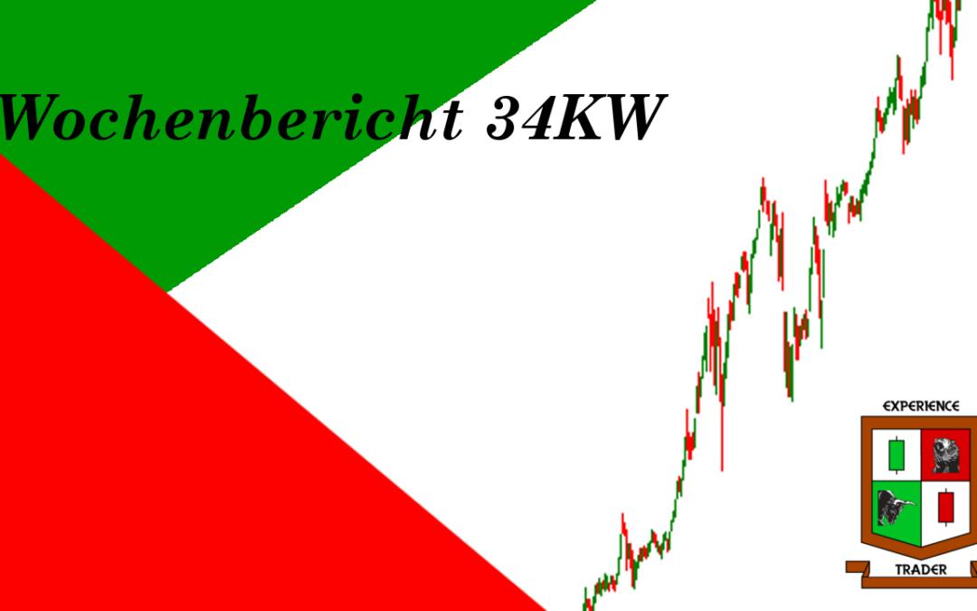 Wochenbericht für den 34.KW